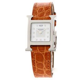 HERMES【エルメス】 HH1.210 腕時計 ステンレススチール/レザー/レザー レディース