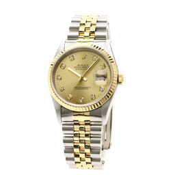 ROLEX【ロレックス】 16233G 腕時計 ステンレススチール/SSxK18YG/SSxK18YGK18YG メンズ