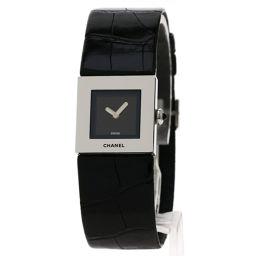 CHANEL【シャネル】 8113 腕時計 ステンレススチール/アリゲーター/アリゲーター レディース
