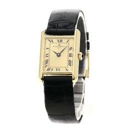 Baume & Mercier【ボーム&メルシェ】 腕時計 K18イエローゴールド/革/革 レディース