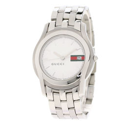 GUCCI【グッチ】 5500M 腕時計 ステンレススチール/SS/SS メンズ