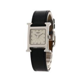 HERMES【エルメス】 HH1.210 7949 腕時計 ステンレススチール/革/革 レディース