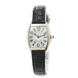 FRANCK MULLER【フランクミュラー】 2251QZMOP 腕時計 K18ホワイトゴールド/クロコダイル/クロコダイル レディース