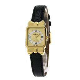 NINA RICCI【ニナリッチ】 腕時計 GP/リザード/リザード レディース