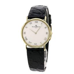 Baume & Mercier【ボーム&メルシェ】 腕時計 K18イエローゴールド/革/革 メンズ