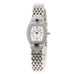 Van Cleef & Arpels【ヴァンクリーフ&アーペル】 322967 B2 腕時計 K18ホワイトゴールド/K18WG/K18WGダイヤモンドxサファイア レディース