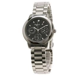 agnes b.【アニエスベー】 V33J-0010 腕時計 ステンレススチール/SS/SS レディース