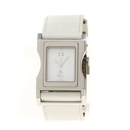 Christian Dior【クリスチャンディオール】 CD033110 腕時計 ステンレススチール/革/革 レディース