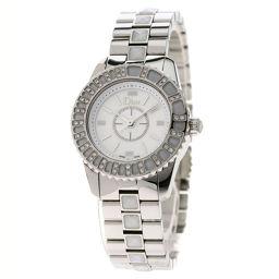 Christian Dior【クリスチャンディオール】 CD112113 腕時計 ステンレススチール/SS/SSダイヤモンド レディース