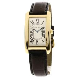 CARTIER【カルティエ】 W2601256 腕時計 K18イエローゴールド/革/革 メンズ