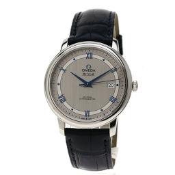 OMEGA【オメガ】 424.13.40.20.02.003 腕時計 ステンレススチール/アリゲーター メンズ