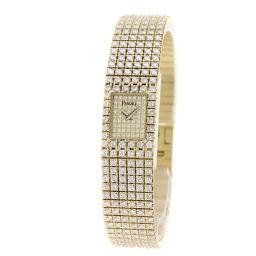 PIAGET【ピアジェ】 15201 C626 腕時計 K18イエローゴールド/K18YGxダイヤモンド/K18YGxダイヤモンド レディース