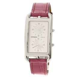 HERMES【エルメス】 CC3-510 腕時計 ステンレススチール/アリゲーター/アリゲーター レディース