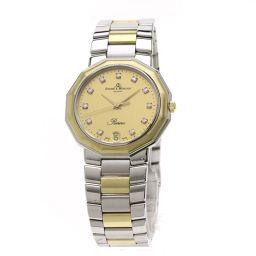 Baume & Mercier【ボーム&メルシェ】 51313 腕時計 ステンレススチール/SSxK18YG メンズ