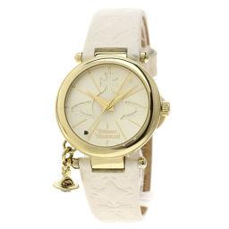 Vivienne Westwood【ヴィヴィアン・ウエストウッド】 VV006 腕時計 GP/革/革 レディース