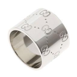 GUCCI【グッチ】 リング・指輪 K18ホワイトゴールド レディース