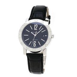 BVLGARI【ブルガリ】 BB42BSLD/N 7820 腕時計 ステンレススチール/革/革 メンズ