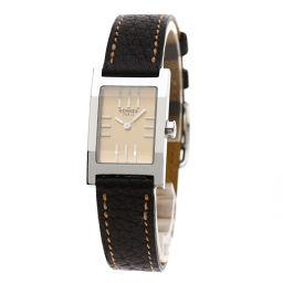 HERMES【エルメス】 TA1.210 7716 腕時計 ステンレススチール/革/革 レディース