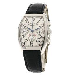 FRANCK MULLER【フランクミュラー】 7880CCAT 腕時計 ステンレススチール/革/革 メンズ