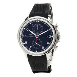 IWC【インターナショナルウォッチカンパニー】 IW390210 腕時計 ステンレススチール/ラバー/ラバー メンズ