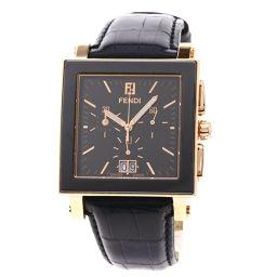 FENDI【フェンディ】 腕時計 GP/革/革 メンズ