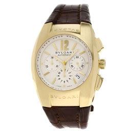 BVLGARI【ブルガリ】 EG40C6GLDCH 7563 腕時計 K18イエローゴールド/革/革 メンズ