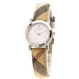 BURBERRY【バーバリー】 腕時計 ステンレススチール/革/革 レディース