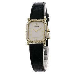 SEIKO【セイコー】 5A70-5270 腕時計 K18イエローゴールド/革/革 レディース