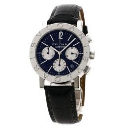 BVLGARI【ブルガリ】 BB38SLDCH 腕時計 ステンレススチール/革/革 メンズ