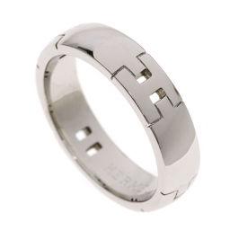 HERMES【エルメス】 リング・指輪 K18ホワイトゴールド メンズ