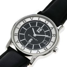 BVLGARI【ブルガリ】 ST35S 7702 腕時計 ステンレススチール/革/革 メンズ