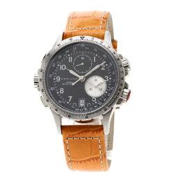 HAMILTON【ハミルトン】 H776121 腕時計 ステンレススチール/革/革 メンズ