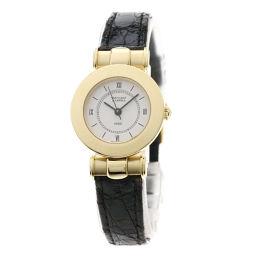 Van Cleef & Arpels【ヴァンクリーフ&アーペル】 7607 腕時計 K18イエローゴールド/革/革 レディース