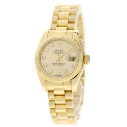 ROLEX【ロレックス】 179178G 腕時計 K18イエローゴールド/K18YG/K18YG レディース