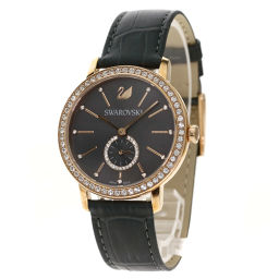 SWAROVSKI【スワロフスキー】 5295389 腕時計 /革/革 レディース
