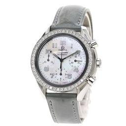 OMEGA【オメガ】 3815.72.55 7685 腕時計 ステンレススチール/革/革ダイヤモンド メンズ