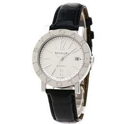 BVLGARI【ブルガリ】 BB38WSLDAT/N 7820 腕時計 ステンレススチール/革/革 メンズ