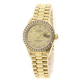 ROLEX【ロレックス】 69138G 腕時計 K18イエローゴールド/K18イエローゴールド/K18YG レディース