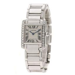 CARTIER【カルティエ】 腕時計 K18ホワイトゴールド/K18ホワイトゴールド/K18WG レディース