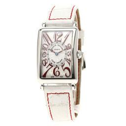 FRANCK MULLER【フランクミュラー】 952QZ JA AC 腕時計 ステンレススチール/クロコダイル レディース