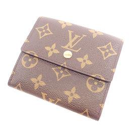 LOUIS VUITTON【ルイ・ヴィトン】 M61652 二つ折り財布(小銭入れあり) モノグラムキャンバス レディース