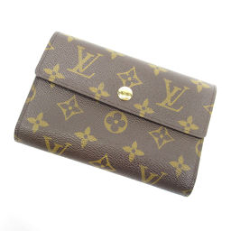 LOUIS VUITTON【ルイ・ヴィトン】 M60047 二つ折り財布(小銭入れあり) モノグラムキャンバス レディース
