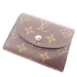 LOUIS VUITTON【ルイ・ヴィトン】 M60253 二つ折り財布(小銭入れあり) モノグラムキャンバス レディース