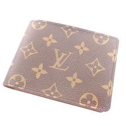 LOUIS VUITTON【ルイ・ヴィトン】 M60895 二つ折り財布(小銭入れなし) モノグラムキャンバス ユニセックス