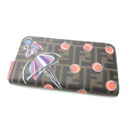 FENDI【フェンディ】 8M0299-1NP-158-8210 長財布(小銭入れあり) PVC レディース