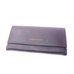 GIVENCHY【ジバンシィ】 長財布(小銭入れあり) ゴートスキン レディース