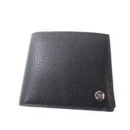 Dunhill【ダンヒル】 二つ折り財布(小銭入れあり) レザー メンズ