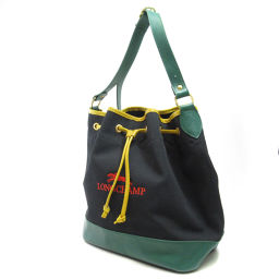 Longchamp【ロンシャン】 ショルダーバッグ キャンバス レディース