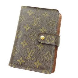 LOUIS VUITTON【ルイ・ヴィトン】 M61207 二つ折り財布(小銭入れなし) モノグラムキャンバス レディース