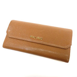 new products 3e787 23c7b MIUMIU 【Miu Miu】 purse (with Coin Pocket) Leather Ladies ー The best place  to buy Brand Bags Watches Jewelry, Brand Bargain